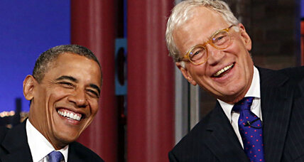 Obama sits down with David Letterman - should Merkel take notes?