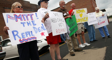 Voters in battleground states on Romney's '47 percent' comment (+video)