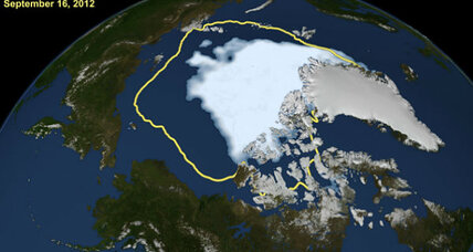 Arctic sea ice in 'uncharted territory,' say researchers (+video)