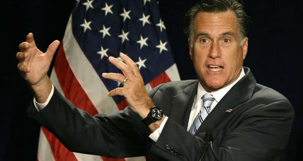 Mitt Romney fact check: Is he actually against redistribution? (+video)