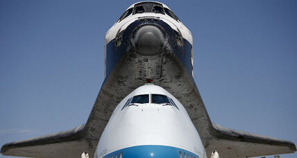 Space shuttle Endeavour touches down