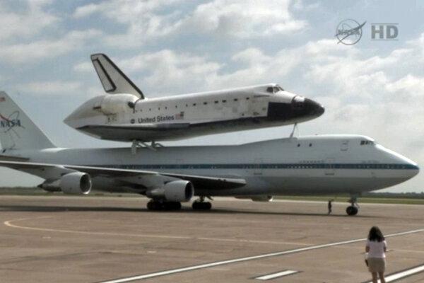 space shuttle landing in houston - photo #47
