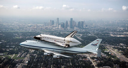 Space shuttle Endeavour piggybacks on 747 for last leg of Calif. journey
