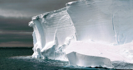 As Antarctic ice streams speed up, major ice melt triggered inland