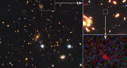 Distant galaxy helped tidy up early universe, scientists say