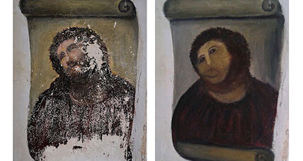 Botched Jesus fresco becomes tourist destination
