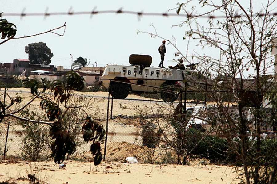 Attempted attack on Israeli border highlights militant presence in