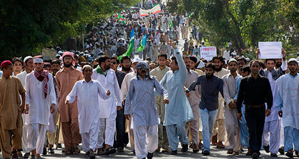 Sweeping Pakistan: Wave of violent protests fueled by anti-Islam film (+video)