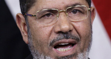 Morsi says under his rule Egypt will be more independent from US