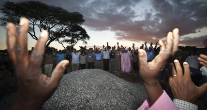God and mammals: In Kenya, religious leaders pray to thwart poaching