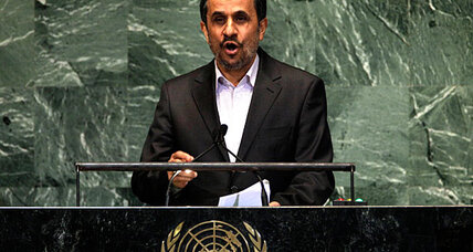 Iran's Ahmadinejad says that Israel will be 'eliminated'