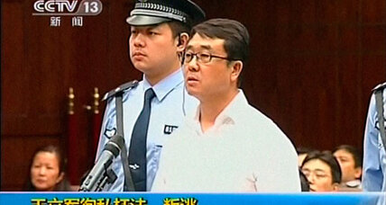 Before China's transfer of power, a would-be defector gets a 15-year sentence (+video)