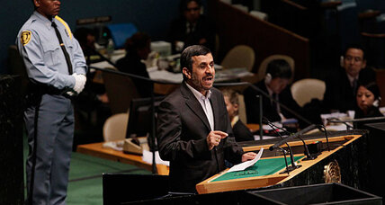 Ahmadinejad nears last UN speech: expect a doozy