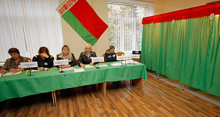 In Europe's sketchiest election, Belarus votes in entirely pro-government parliament