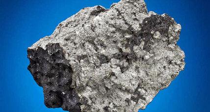 Mars fragments and moon rocks on meteorite auction block