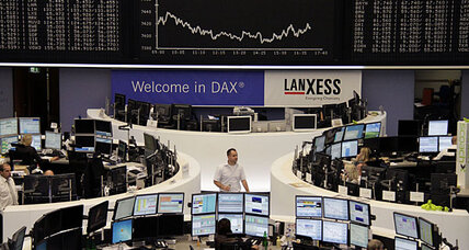 Stocks waver as confidence falls in Europe