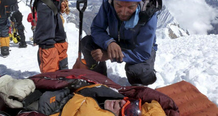 Avalanche survivors in Nepal tell of predawn confusion