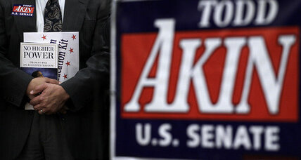 Akin won't give up (+video)