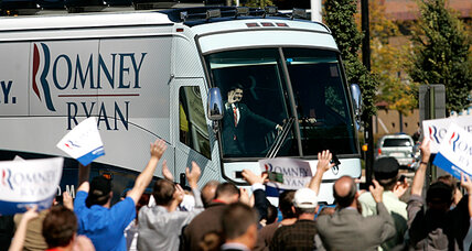 Is Mitt Romney's Ohio bus tour a waste of his time?
