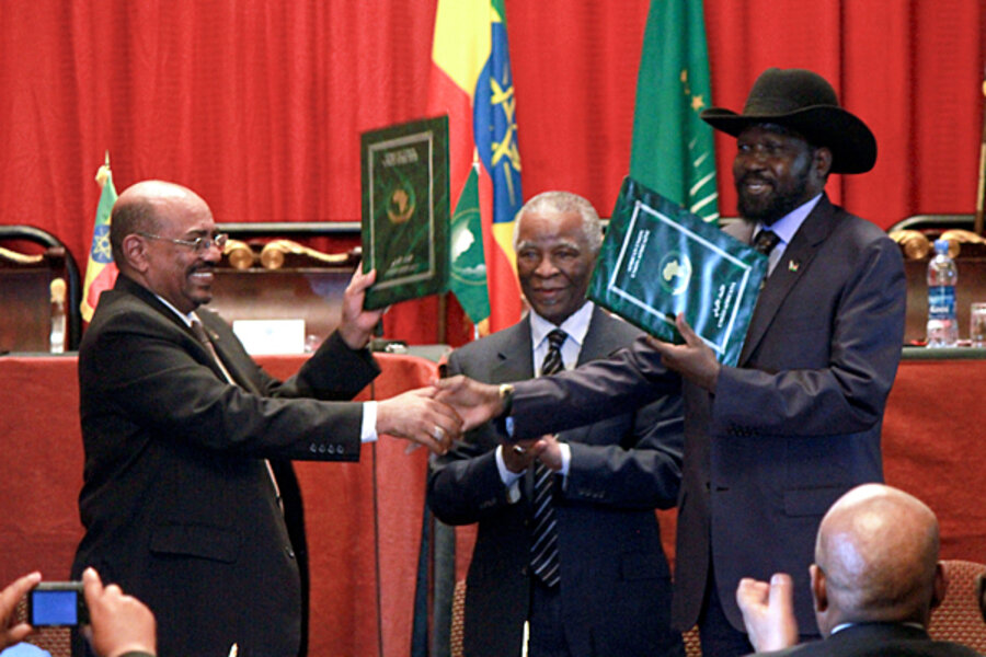 Sudan and South Sudan strike 'partial peace' deal ...