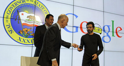 At Google HQ, Calif. Gov. Jerry Brown signs self-driving cars bill