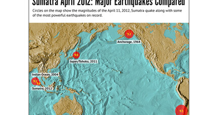 Bizarre 2012 earthquake signals birth of world's newest tectonic plate
