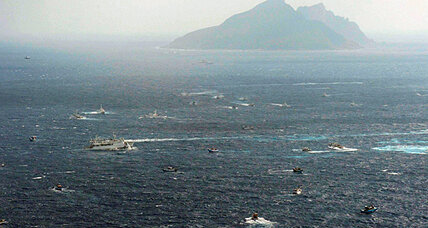 Taiwan enters island fray, but China and Japan shrug