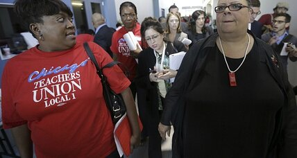 Strike-ending 'framework' in place for Chicago teachers as Big Labor flexes muscle