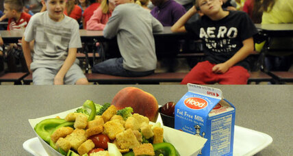 School lunches: Students protest less portions, rising nutrition