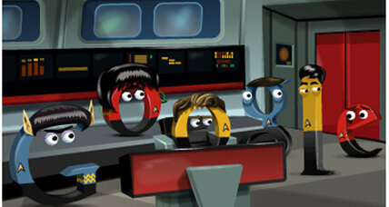 Did you find all the secrets in Google's Star Trek: The Original Series doodle?