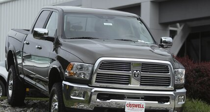 Behind rise in August auto sales: pickups