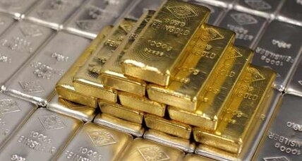 Gold prices hit high for the year