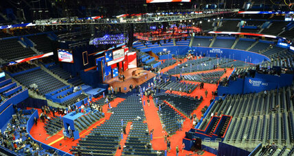 Video of the GOP convention: Take a peek behind the curtain