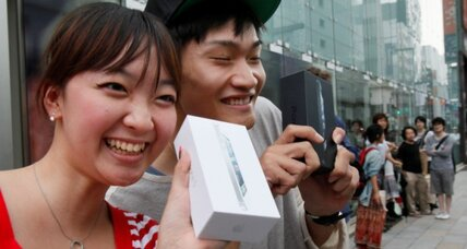 Apple iPhone 5 draws big crowds in Asia