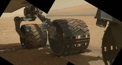 Mars rock hound: Rover Curiosity prepares to head for unique formation