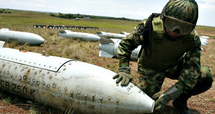 Activists urge nations to strengthen global cluster bomb treaty