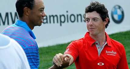 Tiger Woods chases Rory McIlroy at BMW Championship