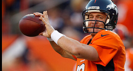 Peyton Manning is back and other NFL Week 1 highlights