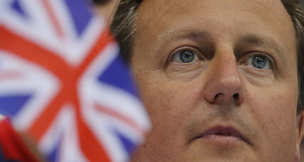 British PM Cameron makes cabinet changes, but keeps finance minister