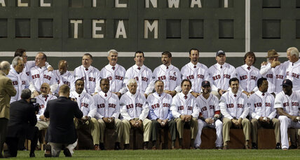 Baseball fans pick best Boston Red Sox players of past 100 years