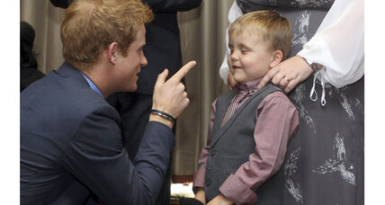 Prince Harry jokes about nude Vegas pics: 'Never one to be shy'
