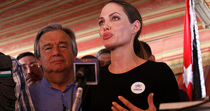 Angelina Jolie: Will her visit to Jordan help Syrian refugees? (+video)