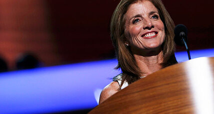 Caroline Kennedy compares Obama to JFK