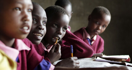 Back to school: From rural Africa to the Ivy League