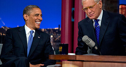 What did Obama say on the 'Late Show with David Letterman'?