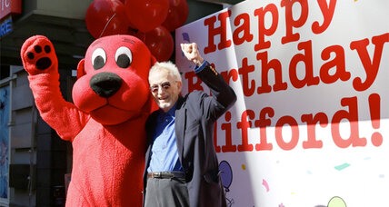 Clifford the Big Red Dog turns 50