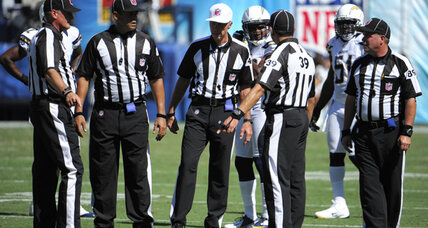 NFL referees and league far apart in negotiations, source says