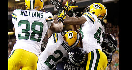 NFL backs controversial call in Packers vs. Seahawks game