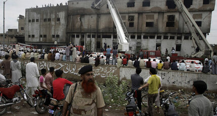 Pakistan factory fires claim over 300 lives (+video)