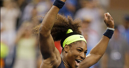Serena Williams rallies back to US Open - again